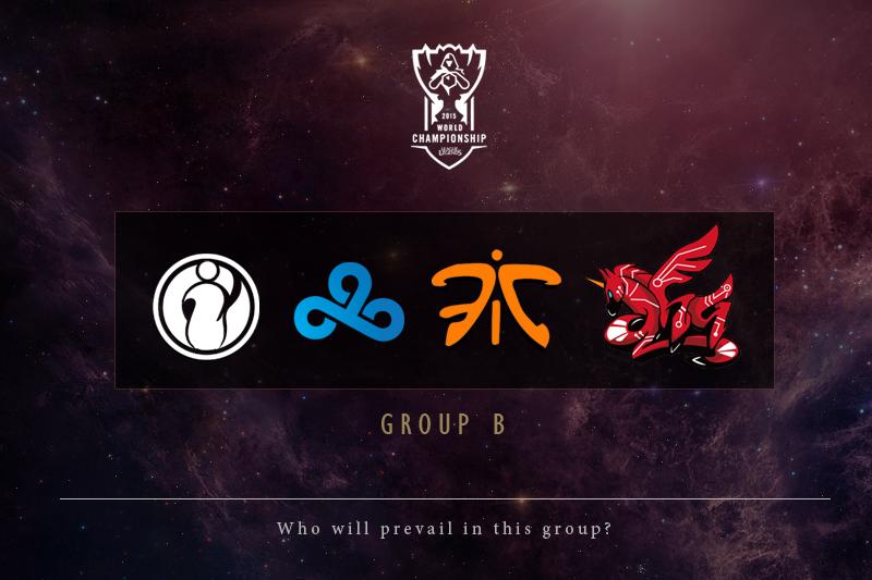 2015年《英雄联盟》全球总决赛小组赛预测(B组)