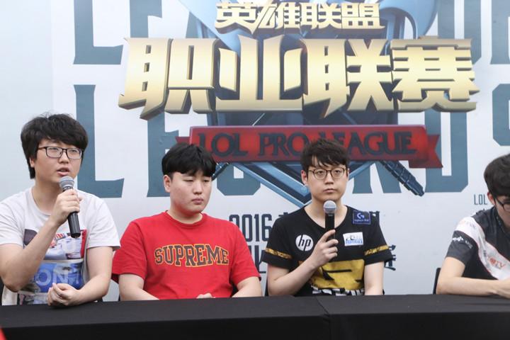 VG vs RNG赛后发布会,VG:Ban瑞雯是个失误