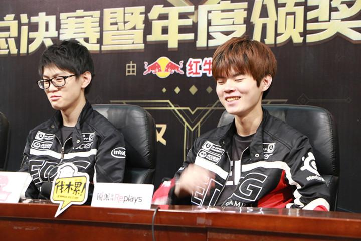 EDG & Remember采访:最想念的是诺言和Meiko
