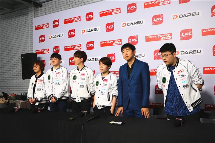 LGD赛后采访:现在的目标是能多赢一点就多赢一点