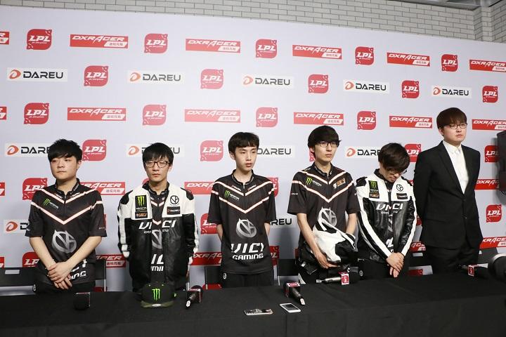 VG赛后采访:打比赛的时候没有那么大的心理压力