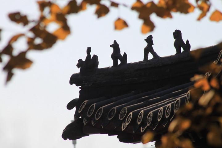 刺猬天才:石像鬼与中国古建筑的石雕装饰