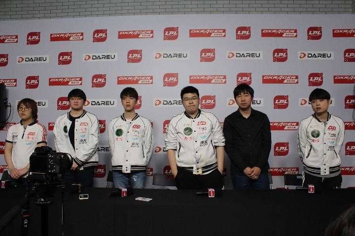 LGD赛后群访:团队需要也会玩坦克英雄