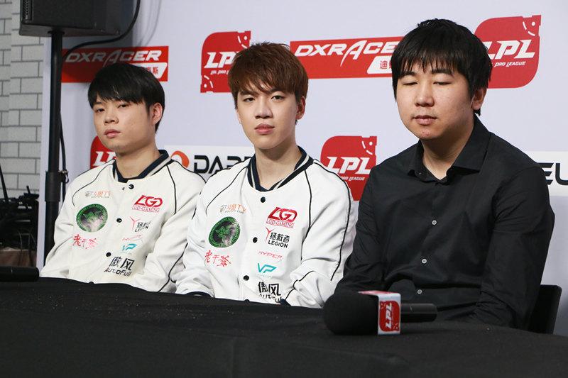 LGD赛后采访:这个赛季的成绩给我们敲响警钟
