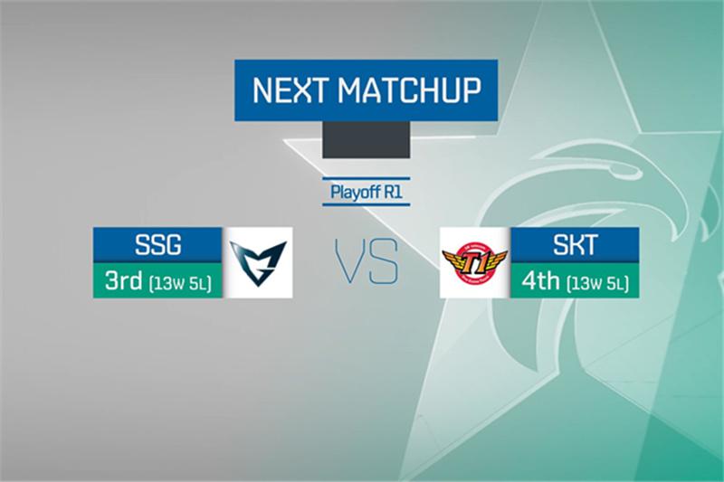 LCK季后赛SSG vs SKT前瞻:放马过来